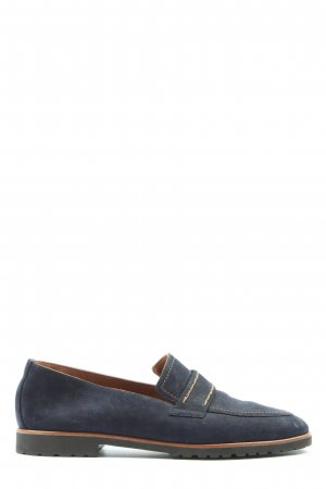 Paul Green Moccasins blue casual look