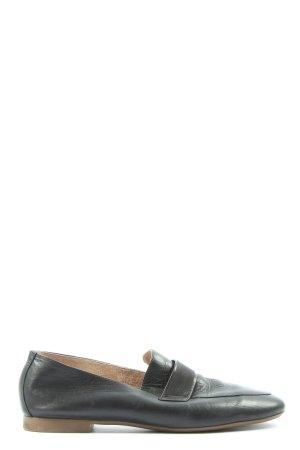 Paul Green Moccasins black casual look