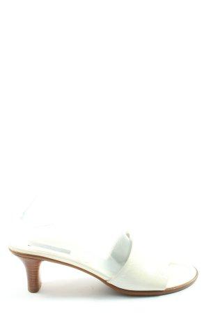 Paul Green München Heel Pantolettes white casual look