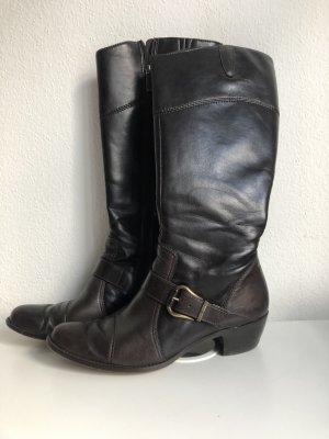 Paul Green München Damen Schuhe Stiefel Winterstiefel Lederstiefel