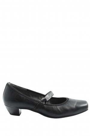 Paul Green München Mary Jane Schoenen zwart zakelijke stijl