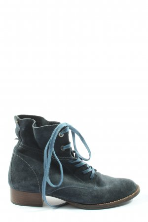 Paul Green München Lace-up Booties blue casual look