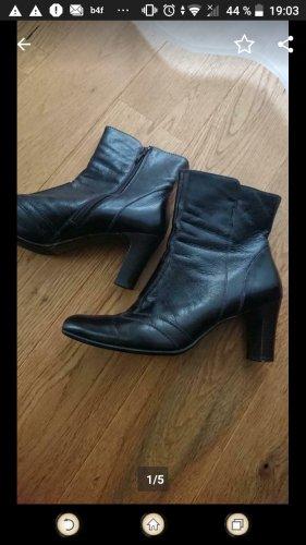 Paul Green Zapatos Budapest marrón oscuro-marrón-negro