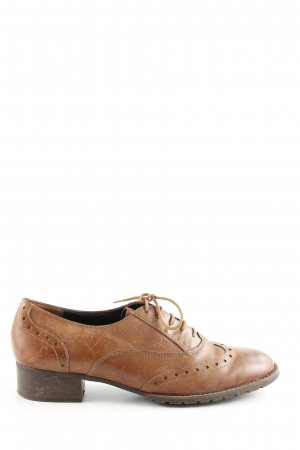 Paul Green Oxfords brown business style