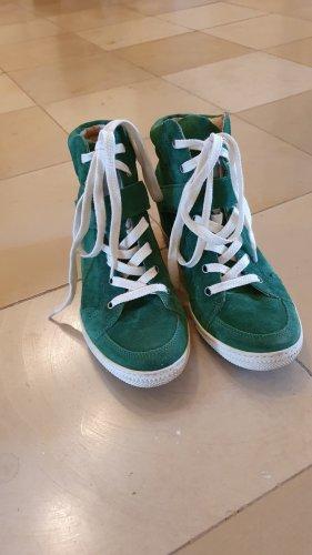 Paul Green Heel Sneakers forest green