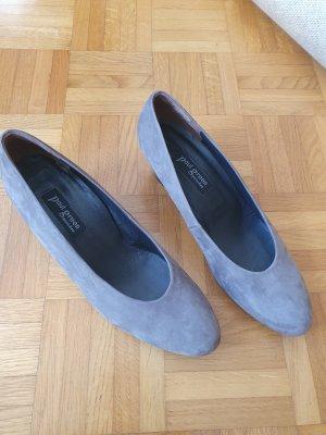 Paul Green Loafers grijs-bruin