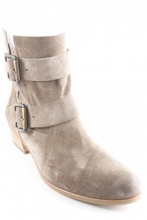 Paul Green Reißverschluss-Stiefeletten taupe Casual-Look