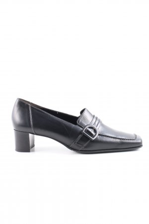 Paul Green Chaussures Richelieu noir style d'affaires