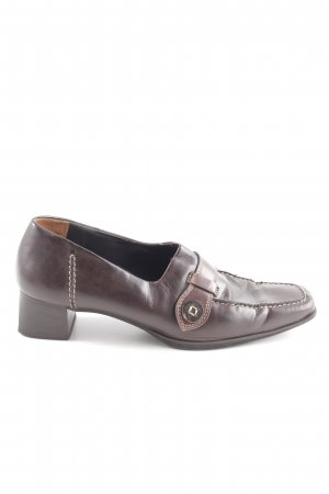 Paul Green Chaussures Richelieu brun style d'affaires