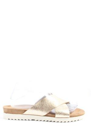 Paul Green Sandales à lanière brun style décontracté