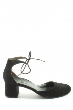 Paul Green Strapped pumps black casual look