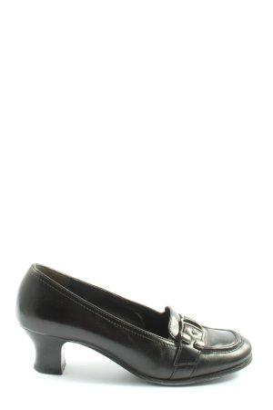 Paul Green Schlüpfschuhe schwarz Elegant