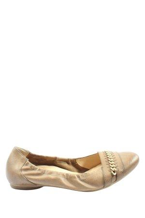 Paul Green Foldable Ballet Flats cream casual look
