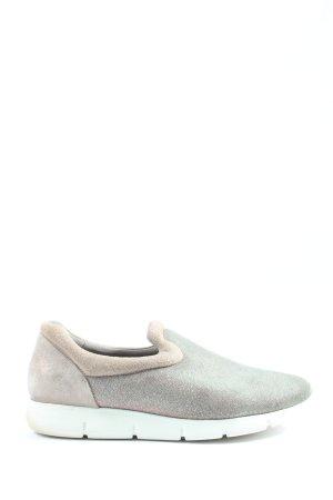 Paul Green Sneaker slip-on grigio chiaro puntinato stile casual