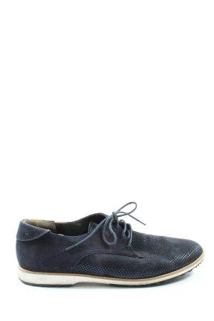 Paul Green Schnürschuhe blau Casual-Look