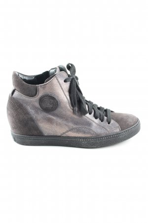 Paul Green Schnürsneaker hellgrau-braun Casual-Look