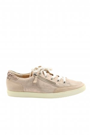 Paul Green Schnürsneaker nude Animalmuster Casual-Look