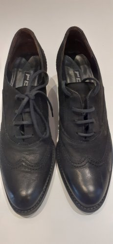 Paul Green Wingtip Shoes black