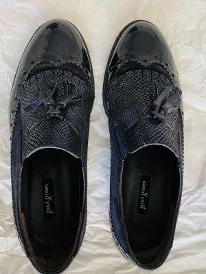 Paul Green Zapatos sin cordones azul oscuro