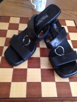PAUL GREEN schwarze Sandaletten, NEUWERTIG - NUR 1-2 x GETRAGEN, Größe 38