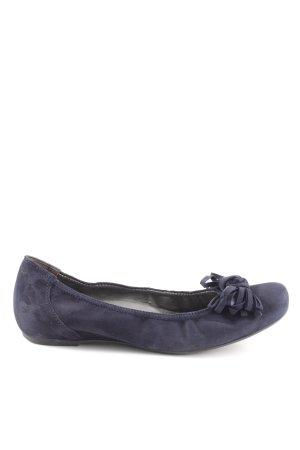 Paul Green Ballerina aperta sul tallone blu stile casual