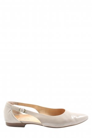 Paul Green Slingback Ballerinas light grey casual look