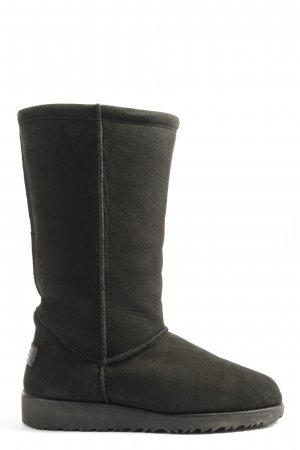 Paul Green Slouch Boots black casual look