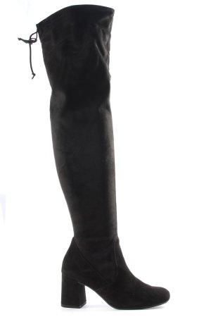 Paul Green Bottes de neige noir style décontracté