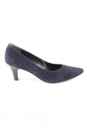 Paul Green Spitz-Pumps blau Casual-Look
