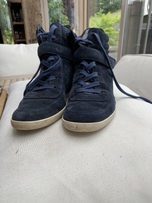Paul Green Wedge Sneaker blue-dark blue