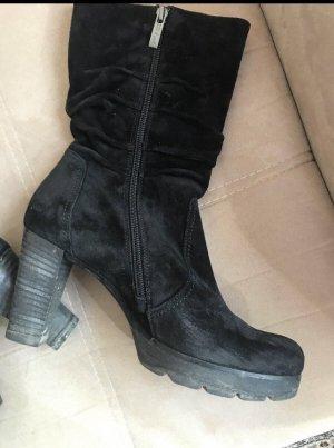 Paul Green Heel Boots black