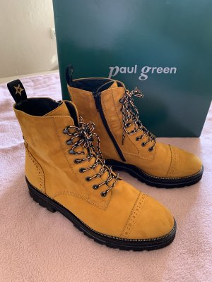 Paul Green Stiefelette Gr. 39 gelb