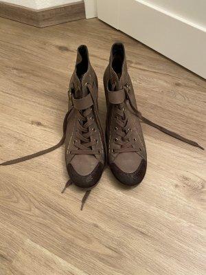 Paul Green Stiefelette-  Größe 7- Farbe taupe