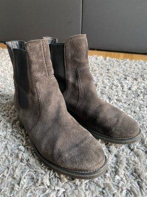 Paul Green Slip-on laarzen taupe