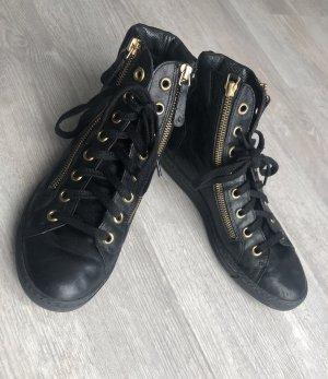 Paul Green Stiefeletten Boots schwarz Gr. 35 - 5,5 | NP €189