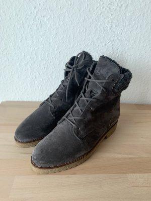 Paul Green Bottines à lacets gris