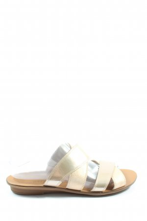 Paul Green Strandsandalen goldfarben Casual-Look