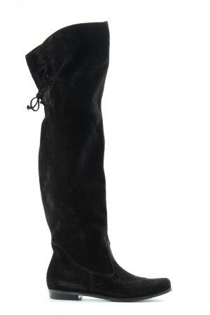 Paul Green Stivale largo al polpaccio nero elegante