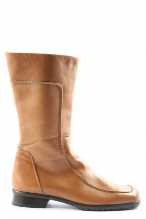 Paul Green Wide Calf Boots brown casual look