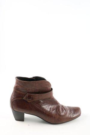Paul Green Bottine d'hiver brun style d'affaires