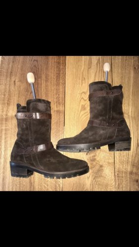 Paul Green Bottes d'hiver brun foncé