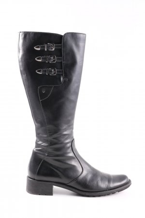 Paul Green Winter Boots black casual look