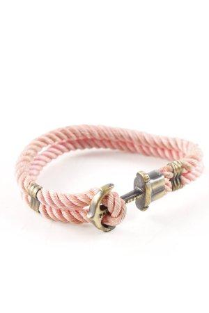 Paul Hewitt Braccialetto sottile rosa-oro stile casual