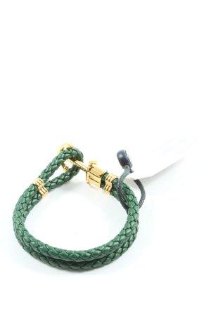 Paul Hewitt Armband grün-goldfarben Casual-Look