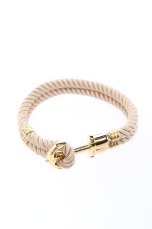 Paul Hewitt Armband wollweiß-goldfarben Casual-Look