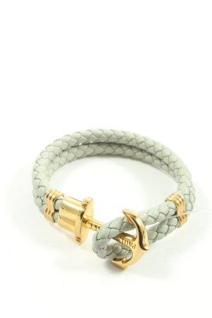 Paul Hewitt Armband hellgrau-goldfarben Casual-Look