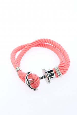 Paul Hewitt Pulsera rosa look casual