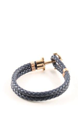 Paul Hewitt Armband blau-goldfarben Casual-Look