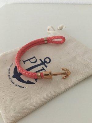 paul hewitt armband in korall/roségold