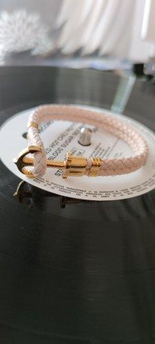 Paul Hewitt Skórzane ozdoby na ręce  złoto-różany